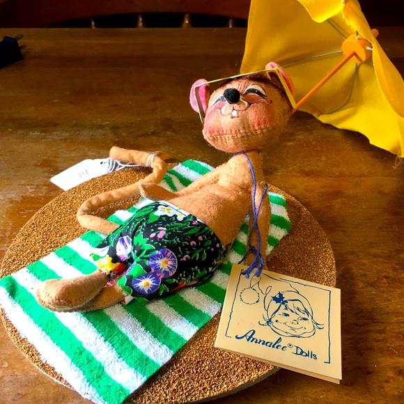 "Annalee Maui Mouse 7"" # 2005 Hawaiian Swim Suit"